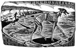 Big Boy - black & white edition - wood engraving