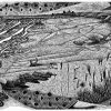 Heading Towards Home - black & white edition - wood engraving
