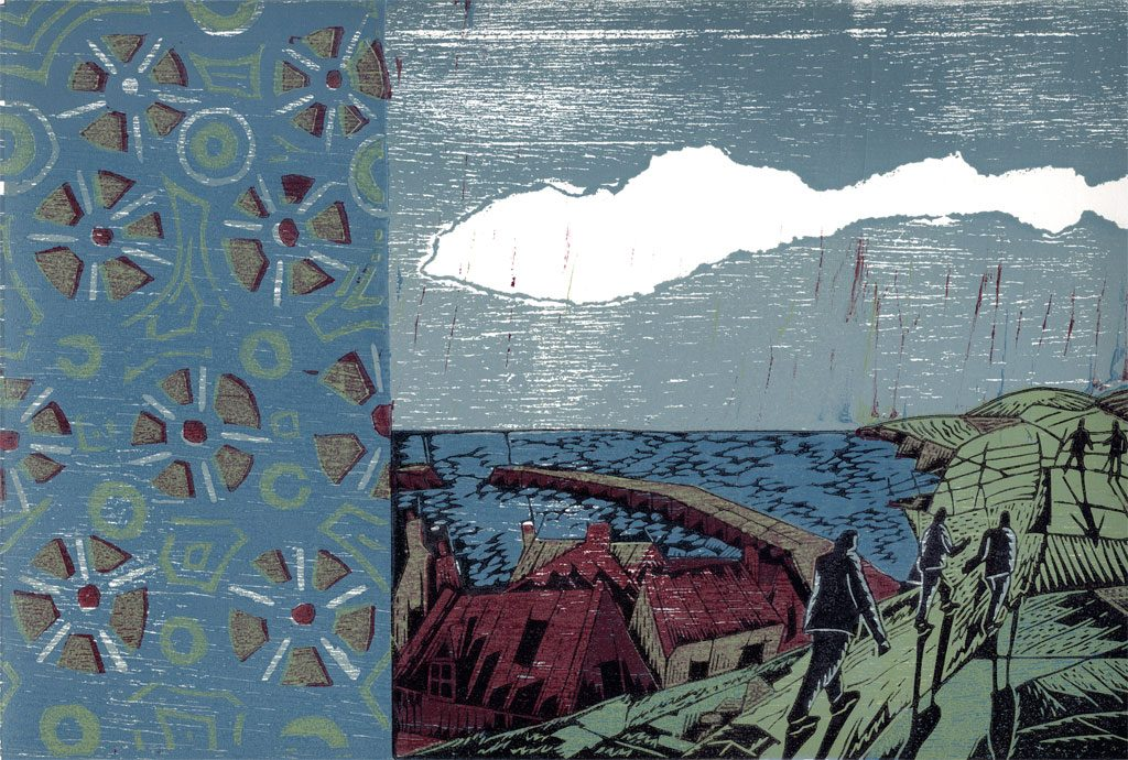 Saltburn 03 - woodcut
