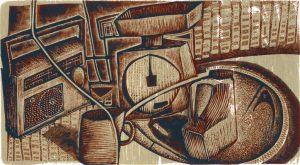 Kitchen Stuff - wood engraving