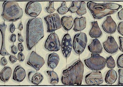 Stuff From a Norfolk Beach - detail 2