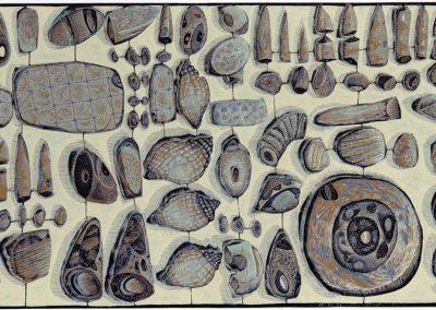 Stuff From a Norfolk Beach - detail 1
