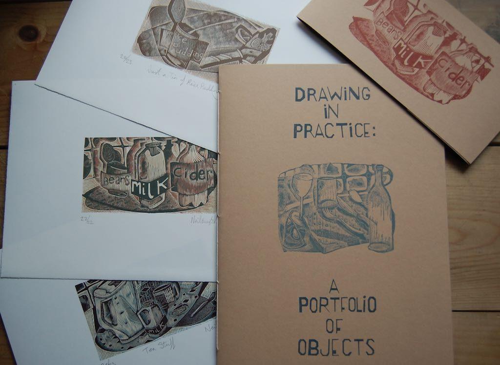 A Portfolio of Objects - a folio of original engravings