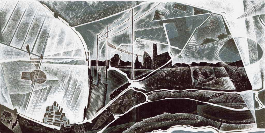 The Broads engraving #3 - Neil Bousfield