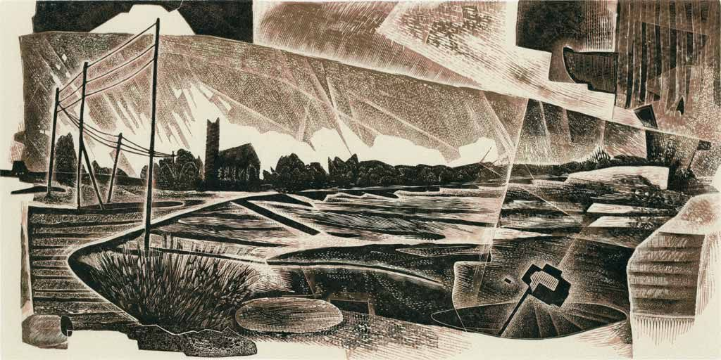 The Broads engraving #5 - Neil Bousfield
