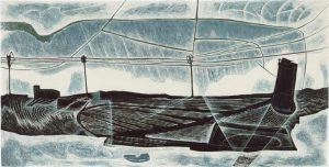 The Broads engraving #2 - Neil Bousfield