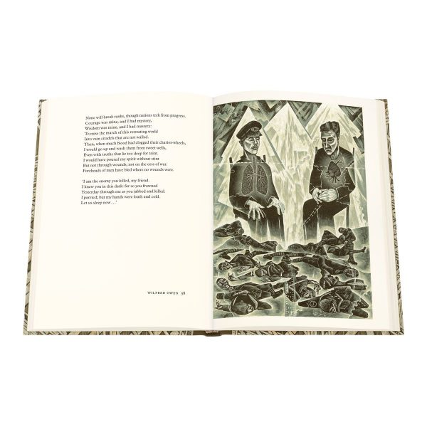 neil-bousfield-wilfred-owen-selected-poems-strange-meeting-folio-society