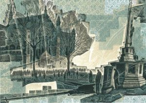 Leslie-Paton-Memory-and-Places - engraving by Neil-Bousfield